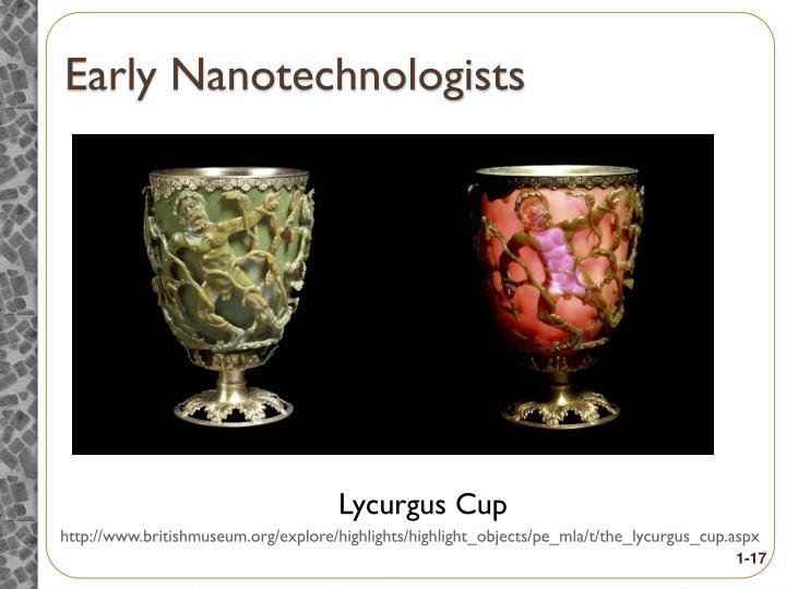 Early Nanotechnologists