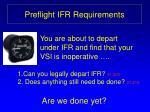 preflight ifr requirements1