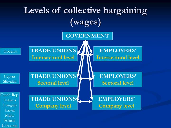 Levels of collective bargaining