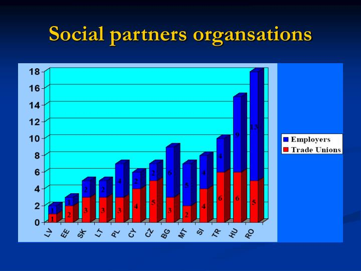 Social partners organsations