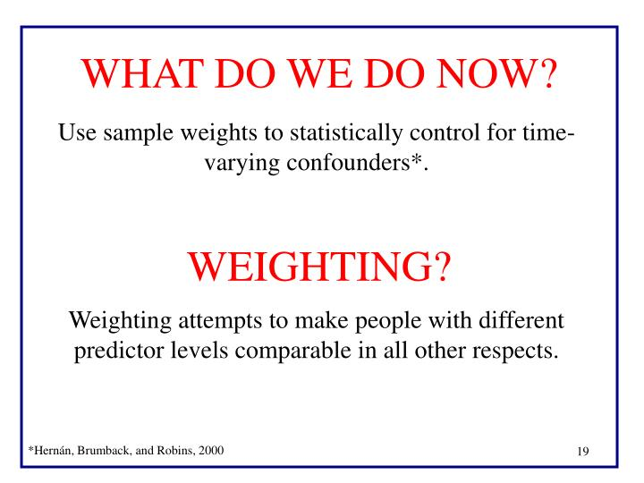 WEIGHTING?