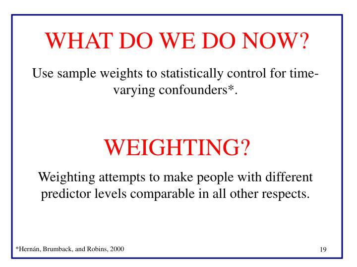 WEIGHTING?