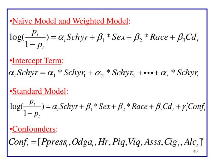 Naïve Model and Weighted Model