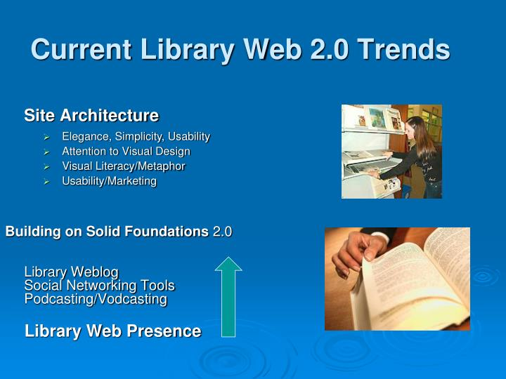 Current Library Web 2.0 Trends