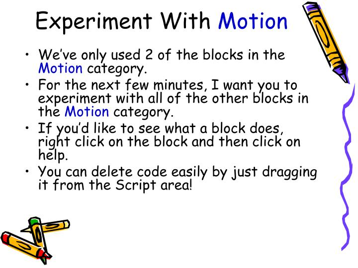 Experiment With