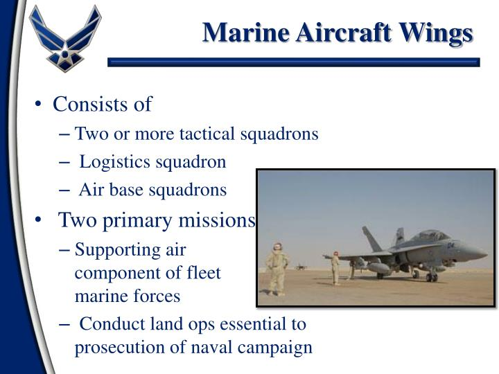 Marine Aircraft Wings