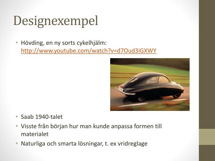 Designexempel