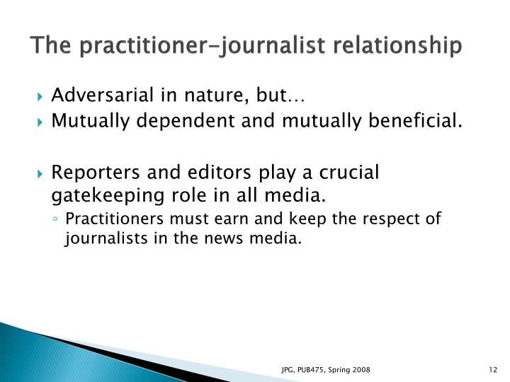 pr and journalism relationship counseling