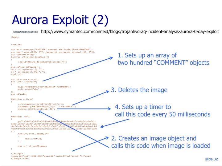 Aurora Exploit (2)