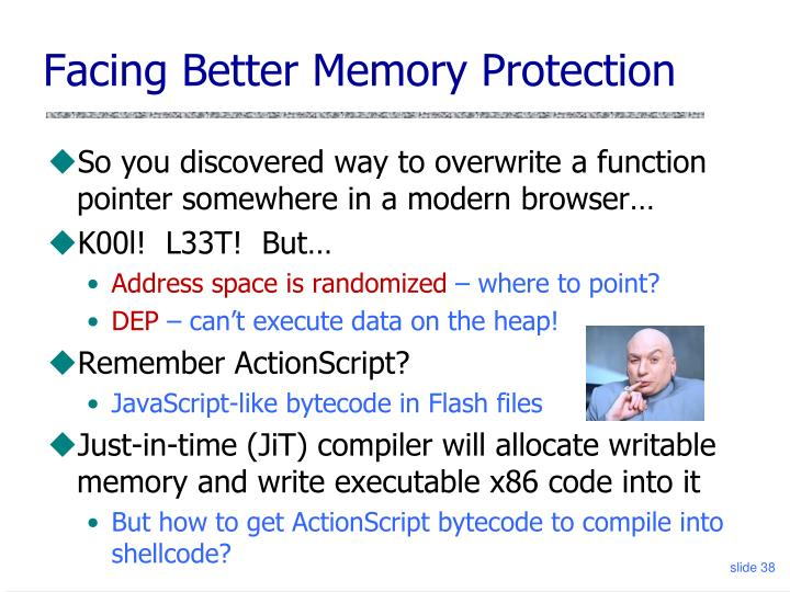 Facing Better Memory Protection