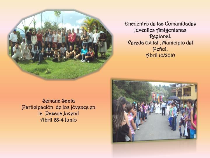 Encuentro de las Comunidades Juveniles