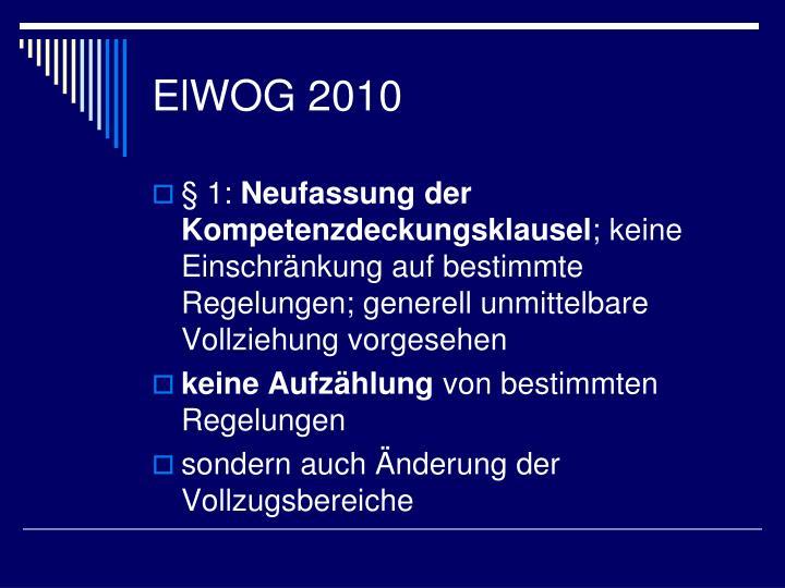 ElWOG