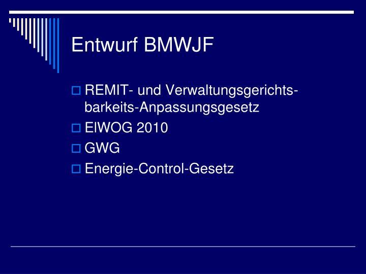 Entwurf BMWJF