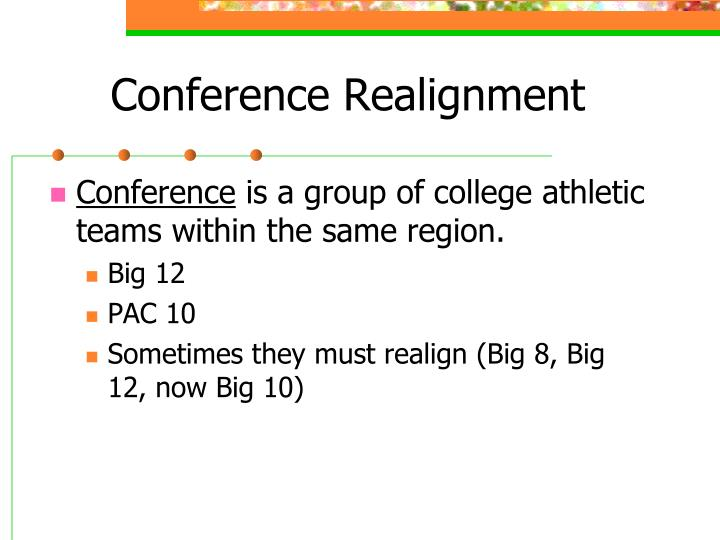 Conference Realignment