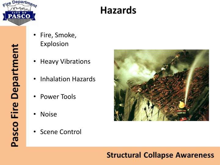 Fire, Smoke, Explosion