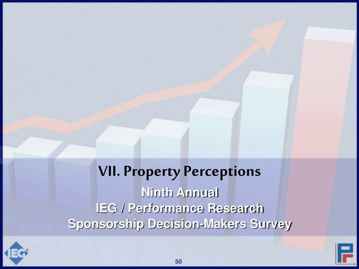 VII. Property Perceptions