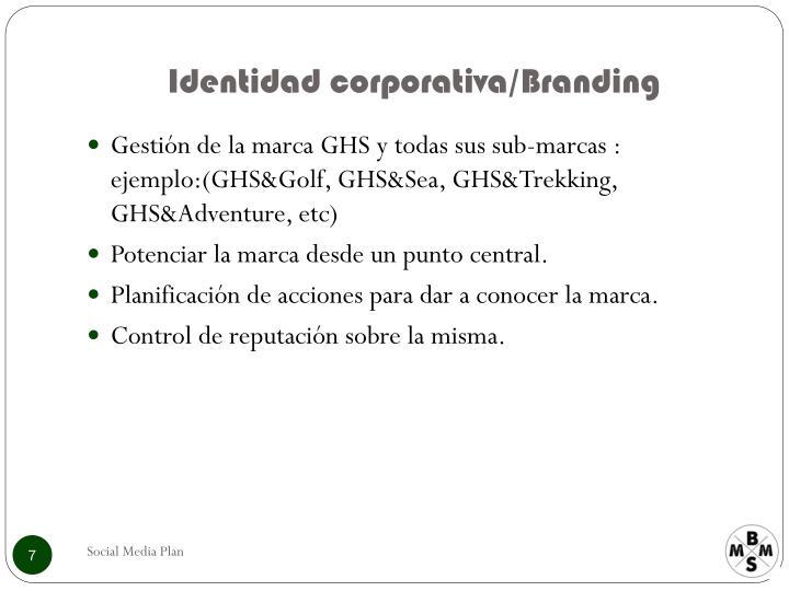 Identidad corporativa/