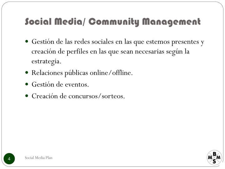 Social Media/