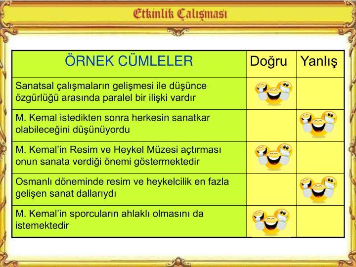 RNEK CMLELER