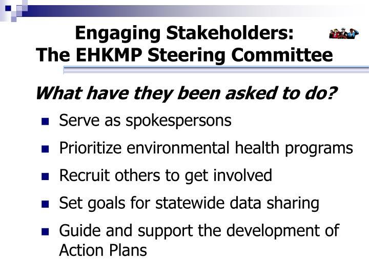 Engaging Stakeholders: