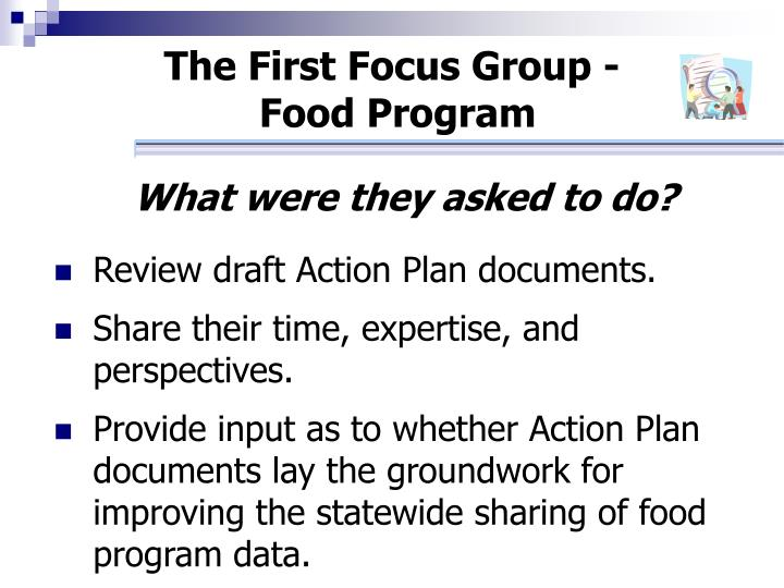 The First Focus Group -