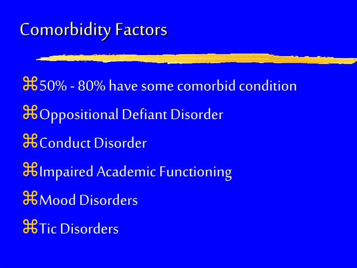 Comorbidity Factors