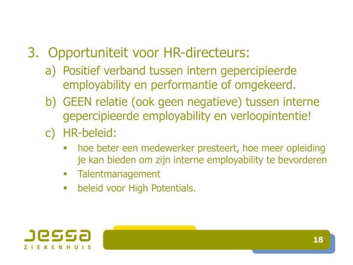Opportuniteit voor HR-directeurs: