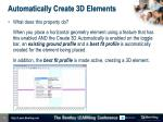 automatically create 3d elements1