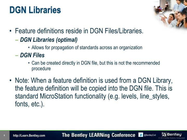 DGN Libraries
