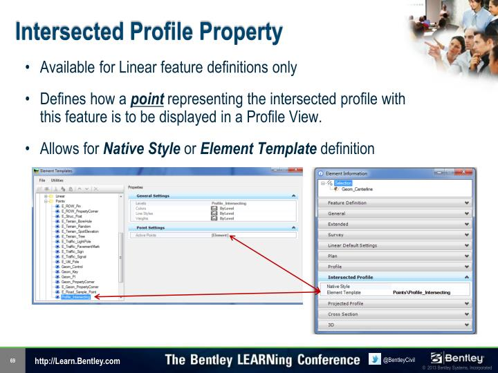 Intersected Profile Property
