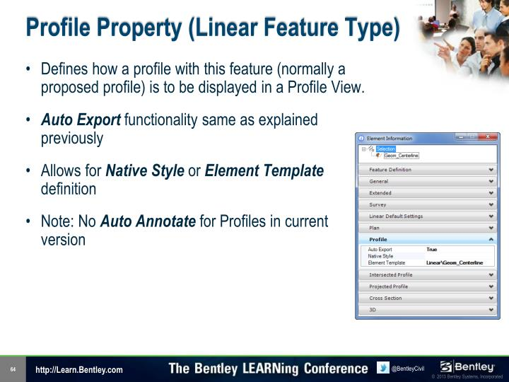Profile Property (Linear Feature Type)