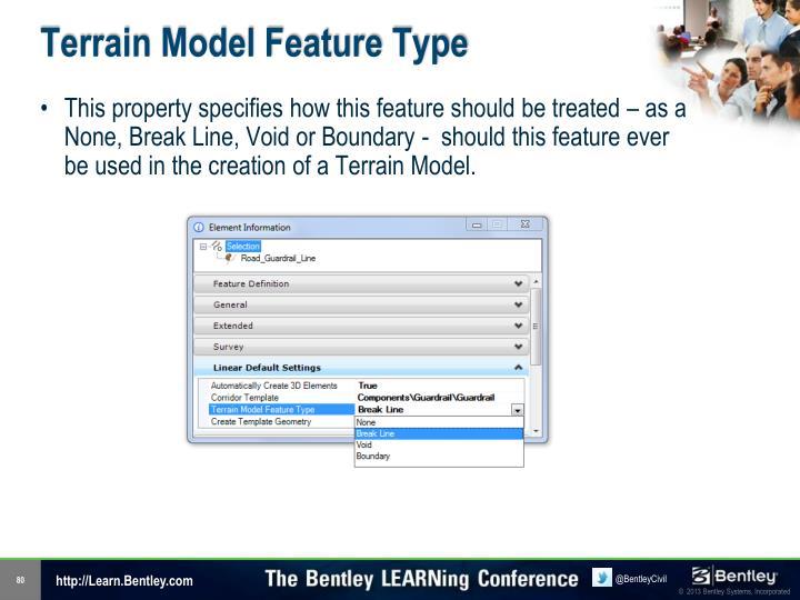 Terrain Model Feature Type