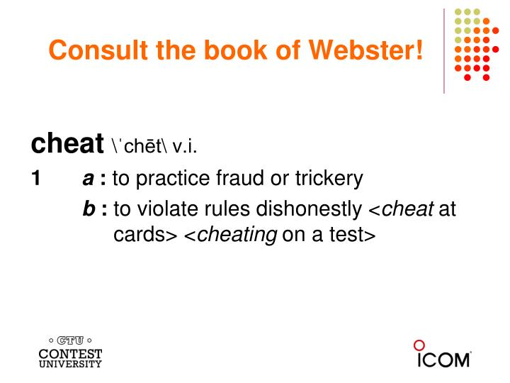 Consult the book of Webster!