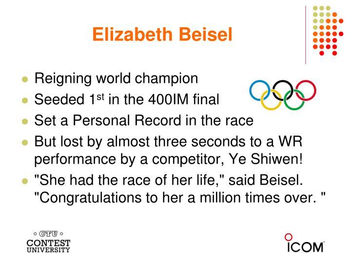 Elizabeth Beisel
