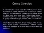 cruise overview