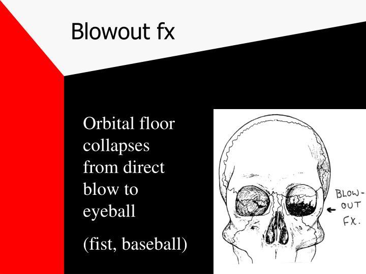 Blowout fx