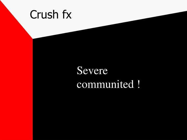 Crush fx