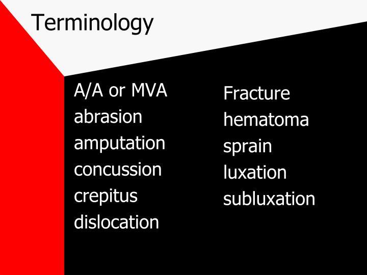 A/A or MVA
