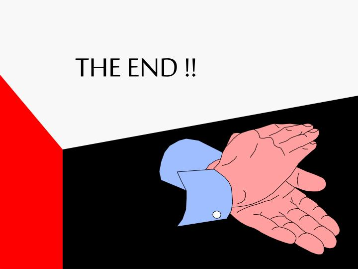 THE END !!