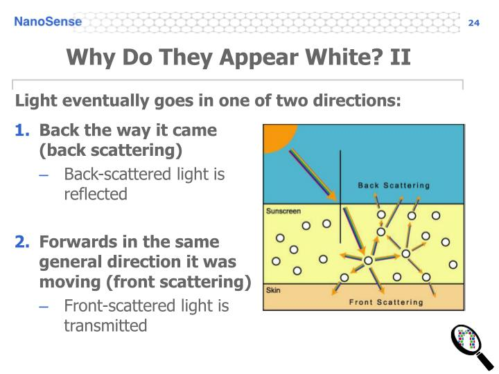 Why Do They Appear White? II