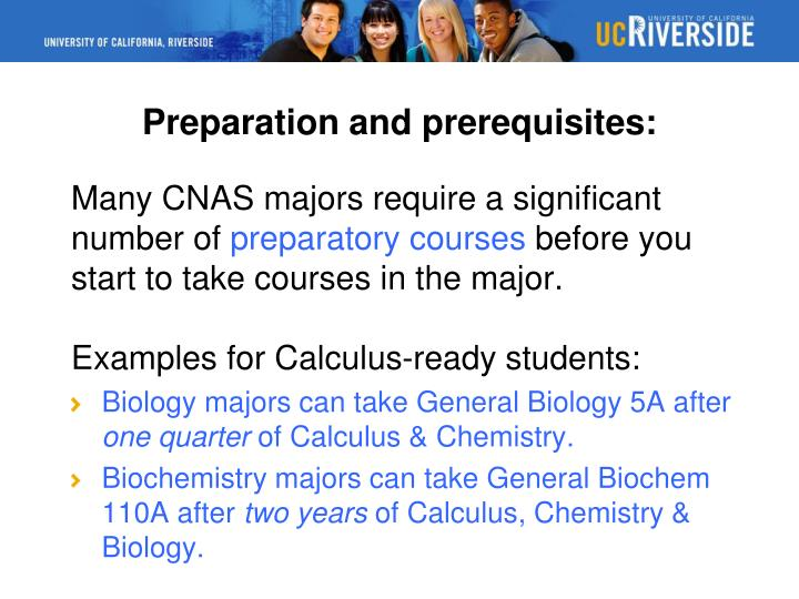 Preparation and prerequisites: