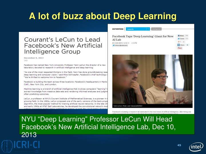 "NYU ""Deep Learning"" Professor"