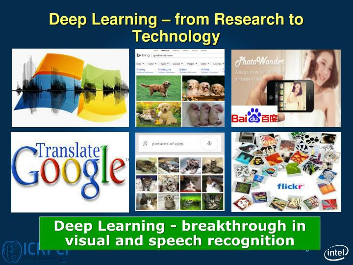 Deep Learning – from Research to Technology