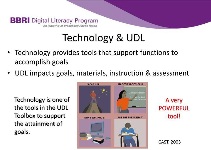 Technology & UDL