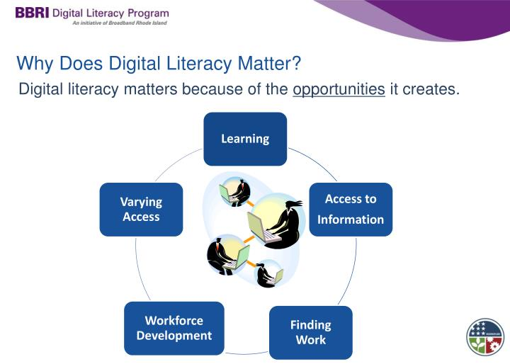Why Does Digital Literacy Matter?