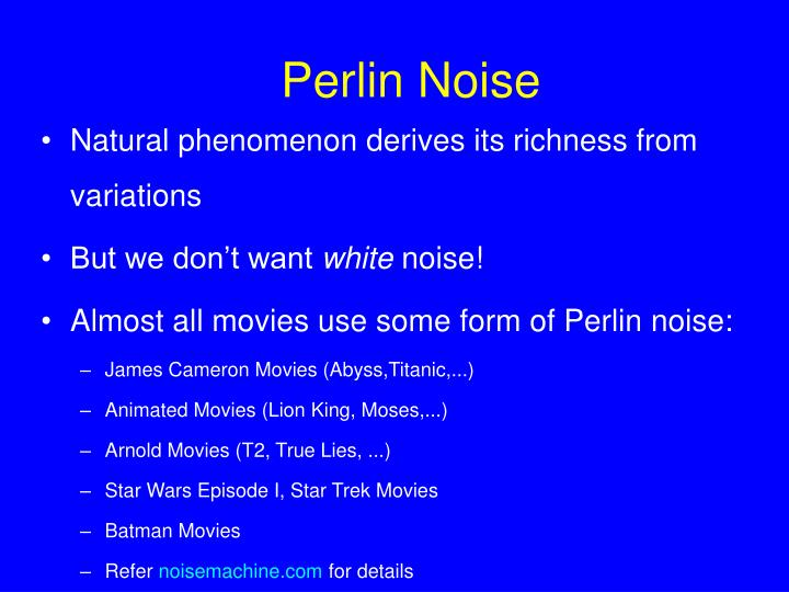 Perlin Noise