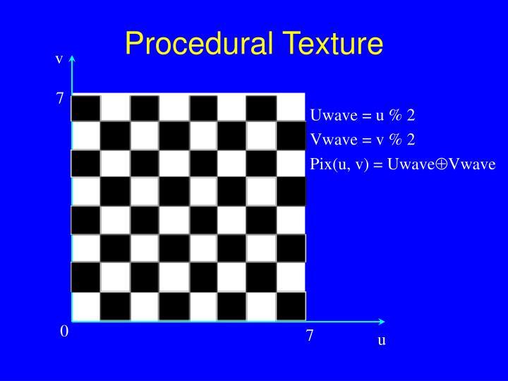 Procedural Texture