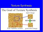 texture synthesis