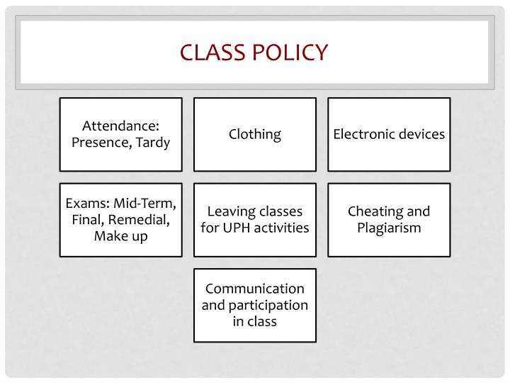 Class policy
